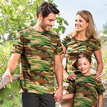 Malfini 144 Camouflage Tričko unisex
