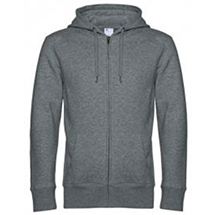 B&C KING Zipped Hood Jacket BCWU03K