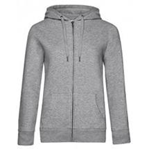 B&C QUEEN Zipped Hood Jacket /Women BCWW03Q