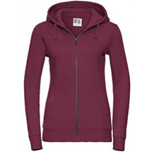 Russell Ladies` Authentic Zipped Hood Jacket Z266F
