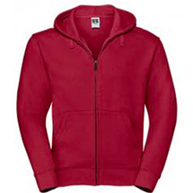 Russell Men`s Authentic Zipped Hood Jacket Z266