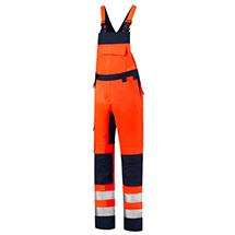 Tricorp T68 Bib & Brace High Vis Bicolor Pracovní kalhoty s laclem unisex