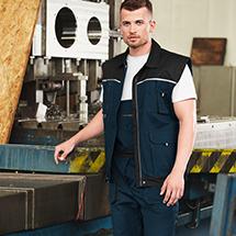 Rimeck W52 Woody Pracovní vesta pánská