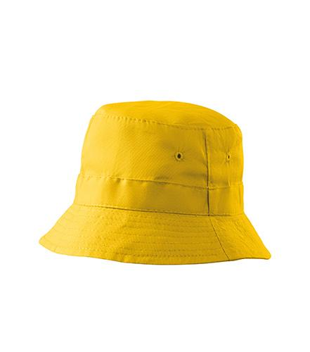 Classic klobouček unisex žlutá