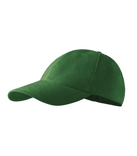 6P čepice unisex lahvově zelená