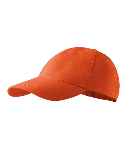 6P čepice unisex oranžová
