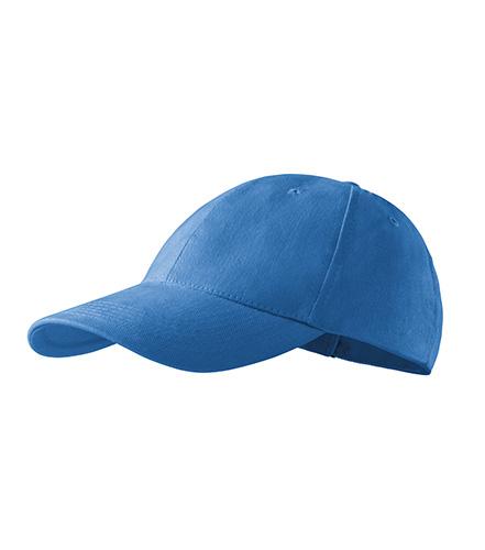 6P čepice unisex azurově modrá