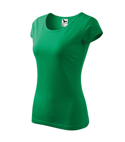 Pure tričko dámské středně zelená