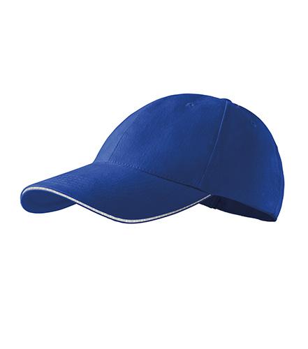 Sandwich 6P čepice unisex královská modrá