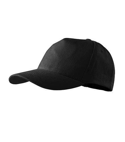 5P čepice unisex černá