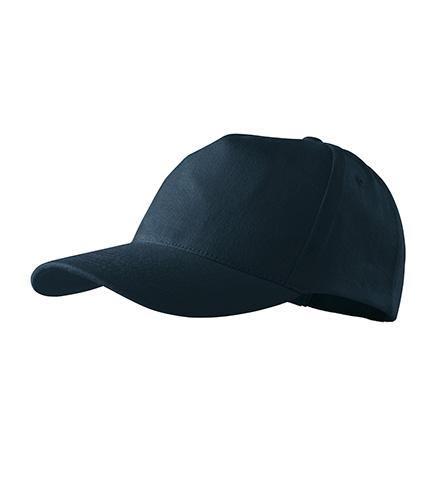 5P čepice unisex námořní modrá