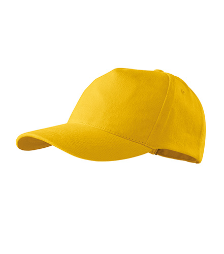 5P čepice unisex žlutá