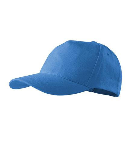 5P čepice unisex azurově modrá