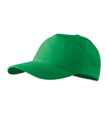 5P čepice unisex středně zelená