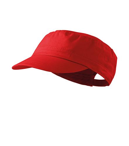 Latino čepice unisex červená