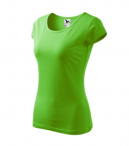 Pure tričko dámské apple green