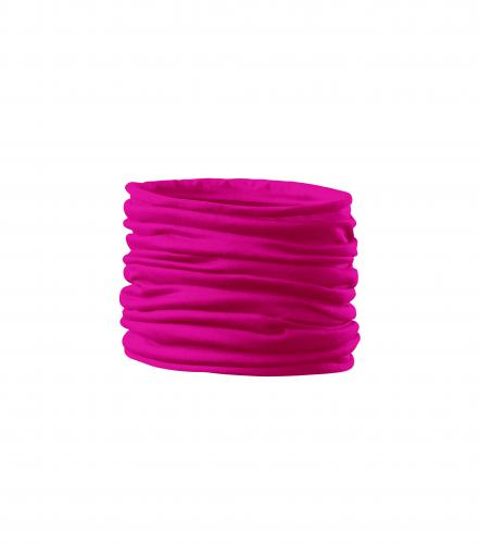 Twister scarf unisex/kids neon pink