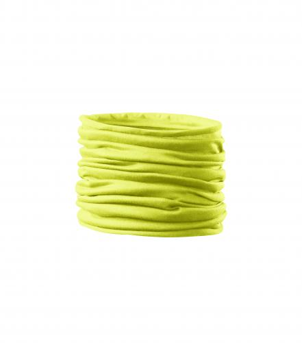 Twister scarf unisex/kids neon yellow