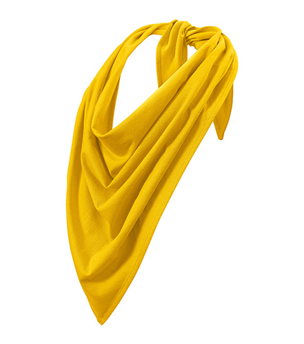 Fancy scarf unisex/kids žlutá