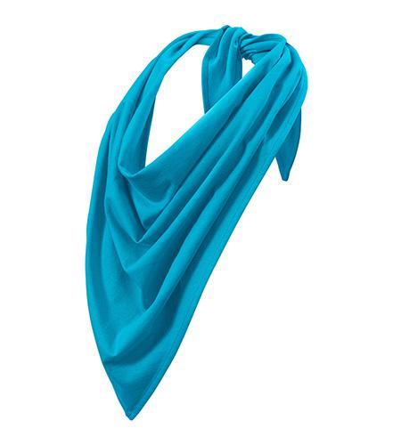 Fancy scarf unisex/kids tyrkysová