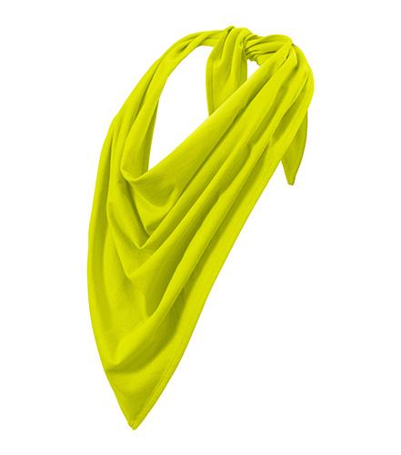 Fancy scarf unisex/kids limetková