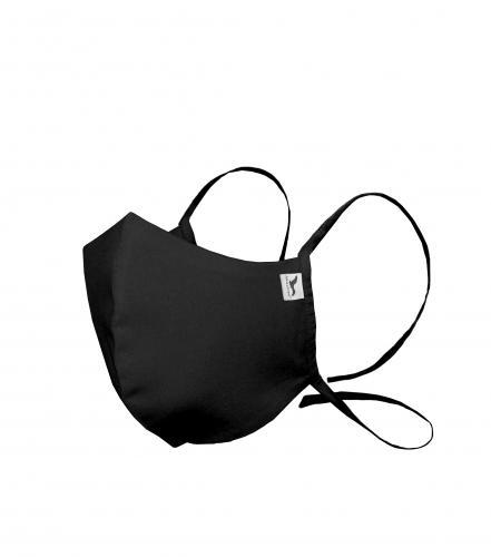 Boat obličejová maska tvarovaná unisex černá