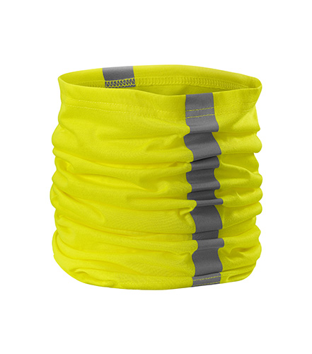 HV Twister šátek unisex fluorescenční žlutá