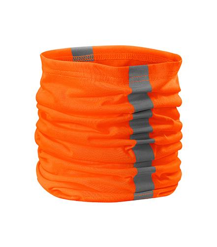 HV Twister šátek unisex fluorescenční oranžová