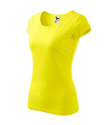 Pure tričko dámské citronová