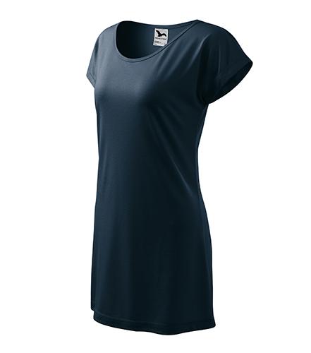 Love tričko/šaty dámské námořní modrá