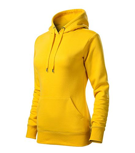 Cape mikina dámská žlutá