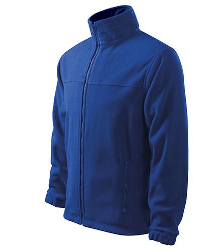 Jacket fleece pánský královská modrá