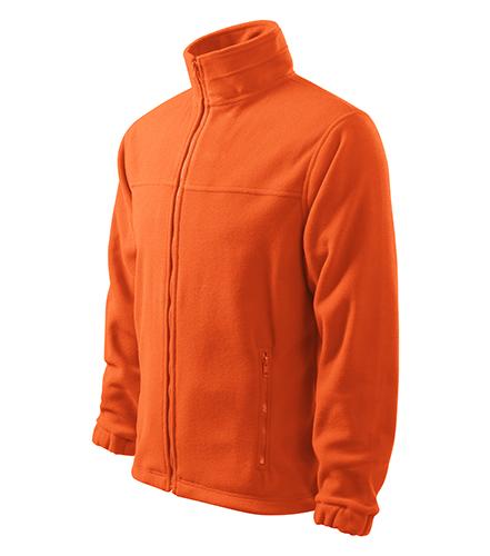 Jacket fleece pánský oranžová