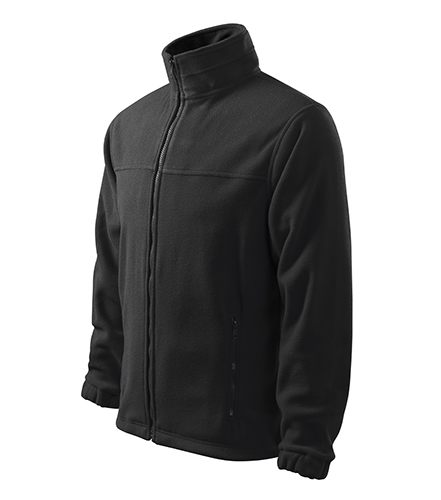 Jacket fleece pánský ebony gray