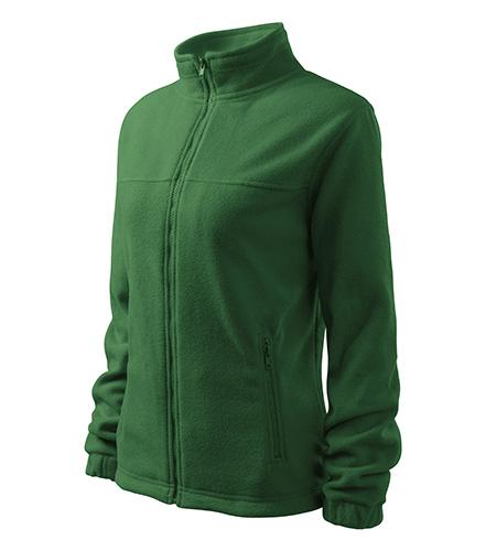 Jacket fleece dámský lahvově zelená