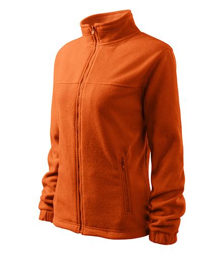 Jacket fleece dámský oranžová