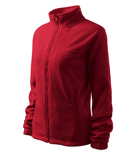 Jacket fleece dámský marlboro červená