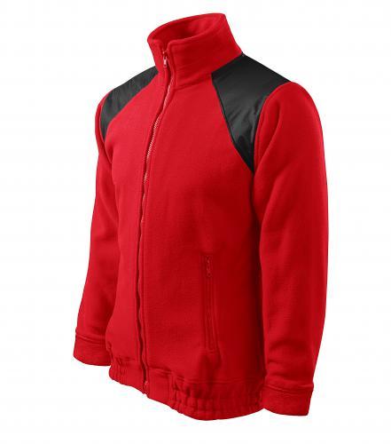 Jacket Hi-Q fleece unisex červená