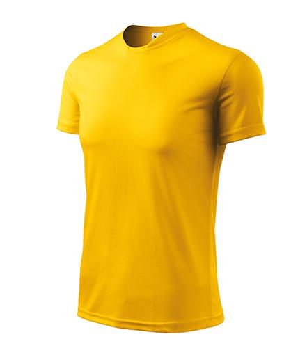 Fantasy tričko pánské žlutá