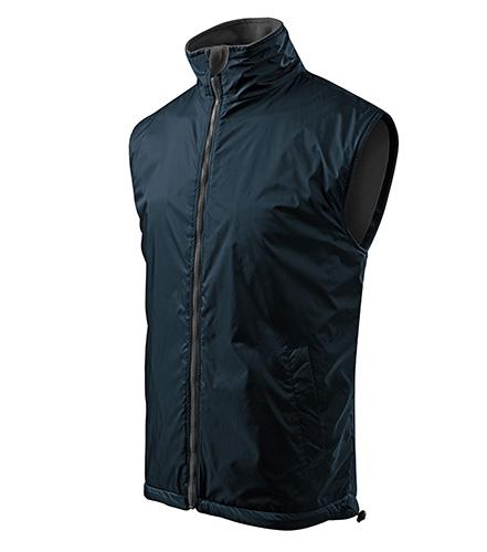 Body Warmer vesta pánská námořní modrá