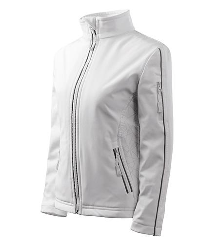 Softshell Jacket bunda dámská bílá