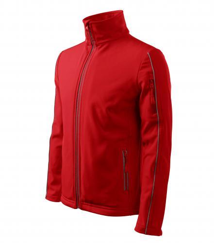 Softshell Jacket bunda pánská červená