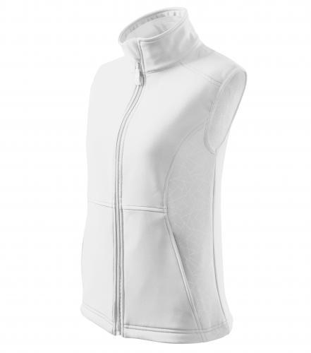 Vision softshellová vesta dámská bílá