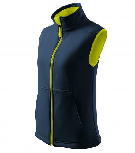 Vision softshellová vesta dámská námořní modrá