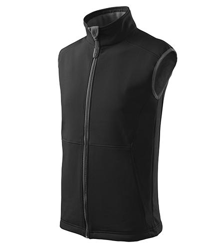 Vision softshellová vesta pánská černá