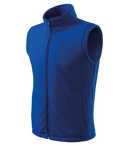 Next fleece vesta unisex královská modrá