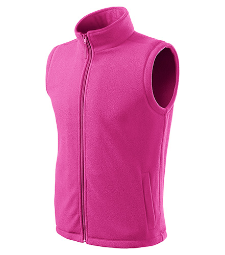 Next fleece vesta unisex fuchsia red