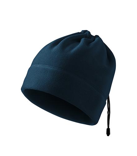Practic fleece čepice unisex námořní modrá