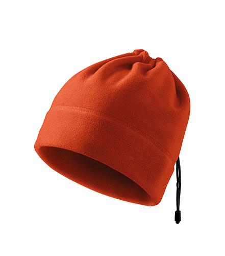 Practic fleece čepice unisex oranžová
