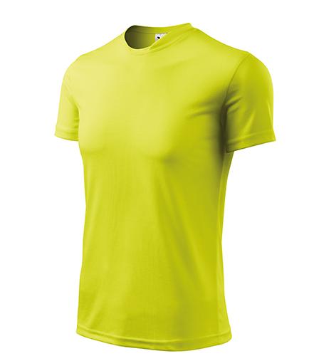 Fantasy tričko pánské neon yellow